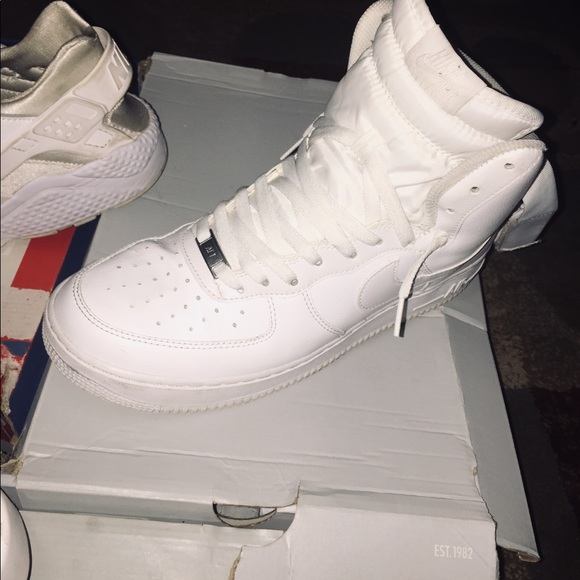 Nike Shoes | High Top Air Force Ones